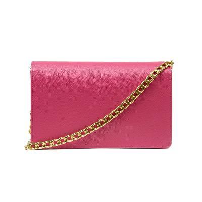 mini chain bag pink 2