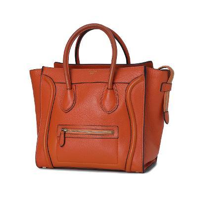 luggage bag orange