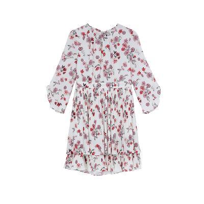floral dress chiffon