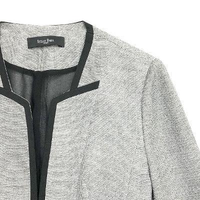 flare point jacket gray