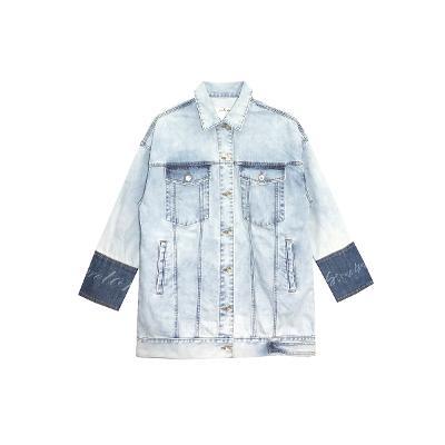 denim workwear shirt jacket