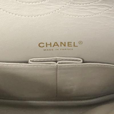 patent classic bag ivory