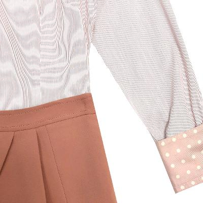[44]Paul Smith - design collar detail shirt_Dewl - detail wrap pants