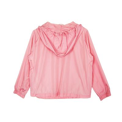 windbreaker jumper neon pink