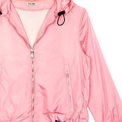 windbreaker jumper neon pink