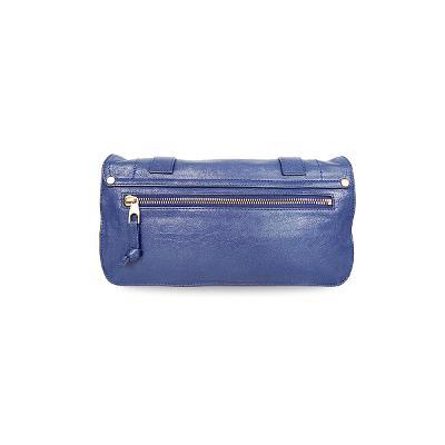 clutch bag navy