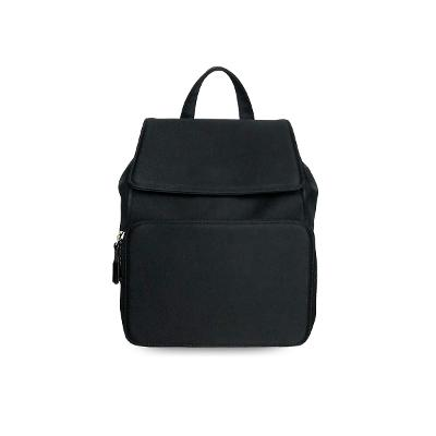 canvas backpack black S