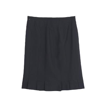 slit gored straight skirt