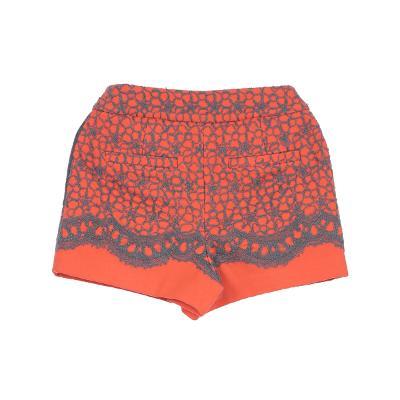 lace wool shorts