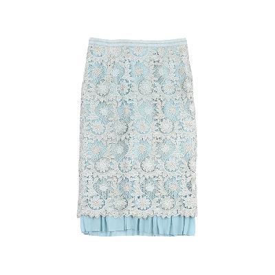 glitter lace skirt