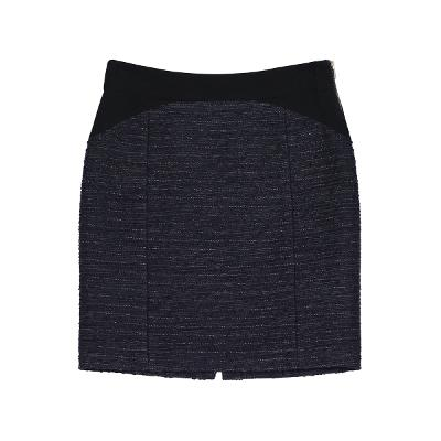 two tone tweed mini skirt
