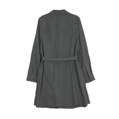 field belt dress khaki