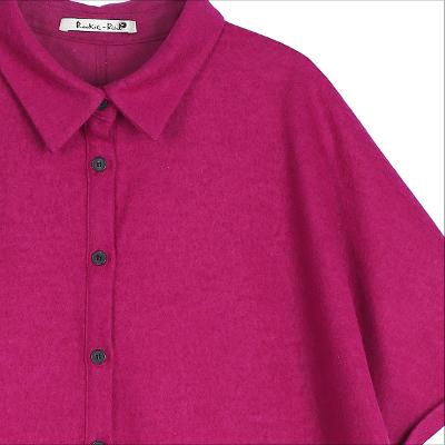 pocket knit dress hotpink