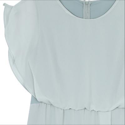 lace detail dress mint