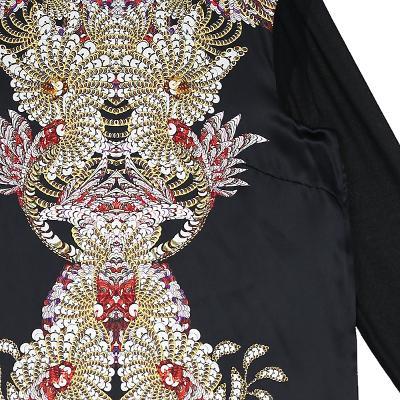 spangle detail dress multi