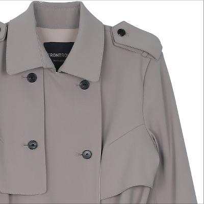 mannish mood trench coat