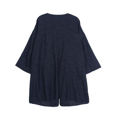 raglan pocket coat navy