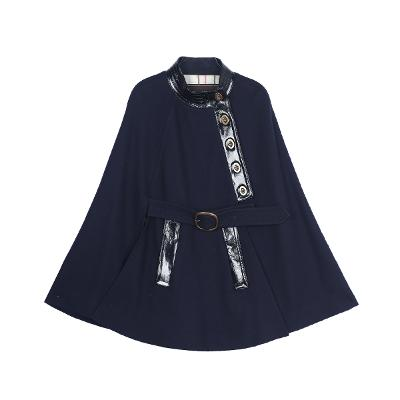 belted buckle poncho