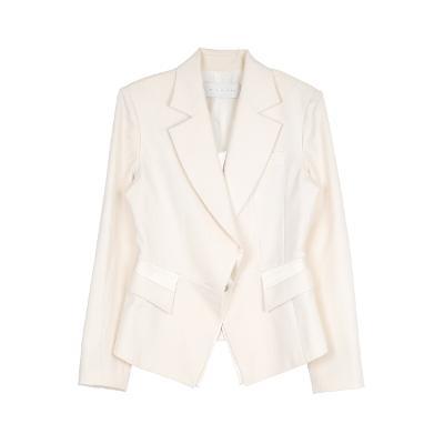 hidden taylored jacket ivory