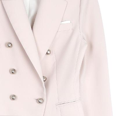feminine jacket pink