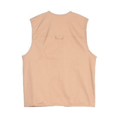 cubic broach vest brown