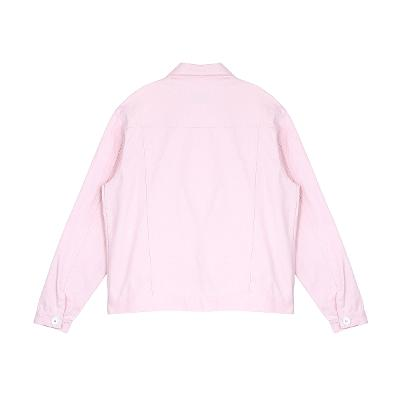 pastel cotton jacket pink