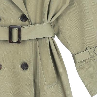 belt trench coat beige
