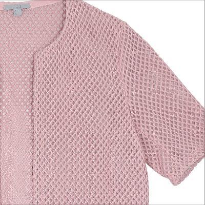 diamond shape lace texture jacket