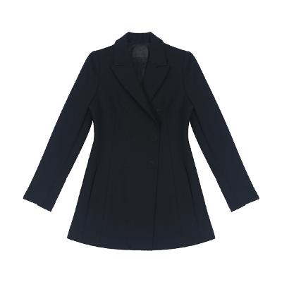 flare line double button jacket