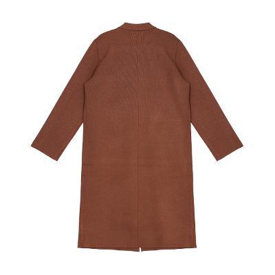 rip pocket coat brown