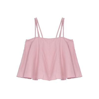 slip crop top