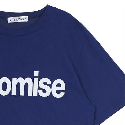 printing basic t-shirt blue