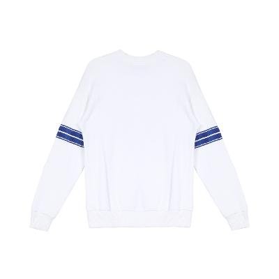 pinting point sweat shirt white