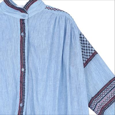 ethnic mood stitch point blouse