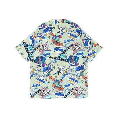 unique pattern shirt multi