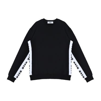 side lettering pint sweat shirt